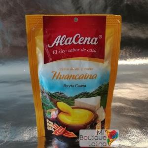 Crema Huancaina – Crème de piment et fromage